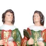 statua Santi Cosma e Damiano cm 25 - volto