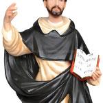 statua San Domenico Guzman cm. 55 - mani