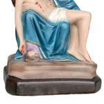 statua Madonna Pietà cm 25 - base