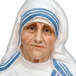 statua Madre Teresa di Calcutta cm 150 -volto