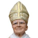 statua San Giovanni Paolo II cm 30 - volto
