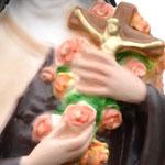 statua Santa Teresa cm 30 - mani