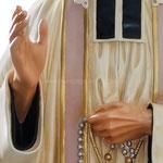 statua San Curato d'Ars cm. 125 - mani