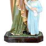 vendita statua Sant ' Anna cm. 85 in resina. - base