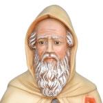 statua Sant' Antonio Abate cm 80 - volto