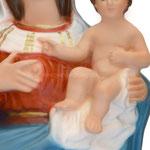 statua Madonna delle Grazie cm 35 - mani