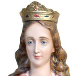 statua Santa Lucia cm 130 - volto