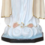 statua Madonna di Fatima cm. 180 - base