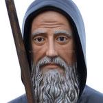 statua San Francesco di Paola cm 110 - volto