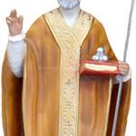 statua San Nicola cm 42 -mani