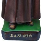 statua San Padre Pio cm 60 -base