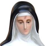 statua Santa Rita cm 130 - volto