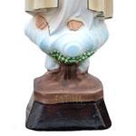 statua Madonna di Fatima cm 35 - base