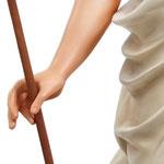 statua Gesù risorto cm 130 -mani