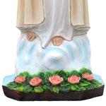 statua Madonna di Fatima cm 65 - base