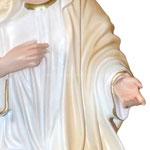 statua Madonna di Medjugorje cm 30 - mani