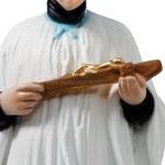 statua San Luigi cm 40 - mani