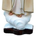 statua Madonna di Fatima cm 37 - base