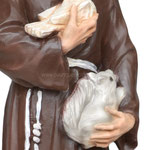 statua San Francesco d' Assisi cm. 30 - mani