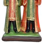 statua Santi Cosma e Damiano cm 25 - base