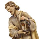 statua Sacra Famiglia con culla semplice - Giuseppe