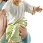 statua Maria Ausiliatrice cm 120 - mani