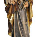statua San Giuseppe con Bambino in legno - busto