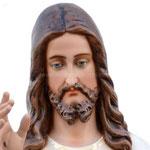 statua Gesù Misericordioso cm 120 -volto