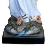 statua Madonna di Lourdes cm 155 - base