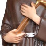 statua San Francesco d' Assisi cm. 28 - mani