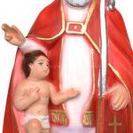 busto San Biagio cm 30 - mani