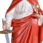 statua Santa Barbara cm 130 - mani