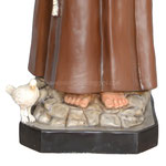 statua San Francesco d' Assisi cm. 174 - base