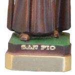 statua San Padre Pio cm 30 -base