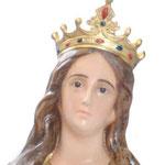 statua Santa Barbara cm 155 - volto