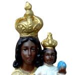 statua Madonna di Loreto cm 30 - volto