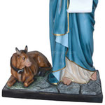 statua San Luca Evangelista cm 160 - base