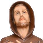 statua San Francesco d' Assisi cm. 82 - volto