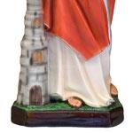 statua Santa Barbara cm 60 - volto - base