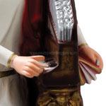 statua Santa Cecilia cm 40 - mani