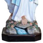 statua Madonna di Lourdes cm 127 - base