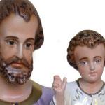statua San Giuseppe cm. 100 - volto