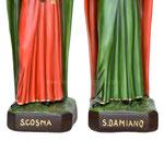 statua Santi Cosma e Damiano cm 60 - base