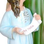 vendita statua Sant ' Anna cm. 140 in vetroresina - mani
