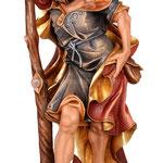 statua San Cristoforo in legno - busto