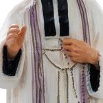 statua San Curato d'Ars cm. 60 - mani