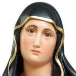statua Madonna Addolorata cm 85 - Volto