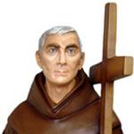 statua San Padre Ludovico da Casoria cm 185 -volto