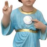 statua SS nome di Gesù cm 50 -mani