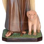 statua Sant' Antonio Abate cm 130 - base